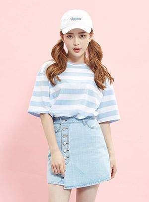 버블 버블 팝팝 tee [44~77] - 아이스크림12(icecream12) 패션쇼핑몰