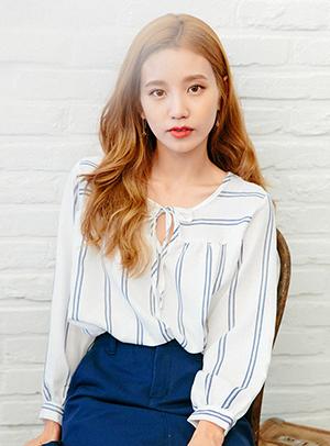 시원해보여 blouse - 아이스크림12(icecream12) 패션쇼핑몰
